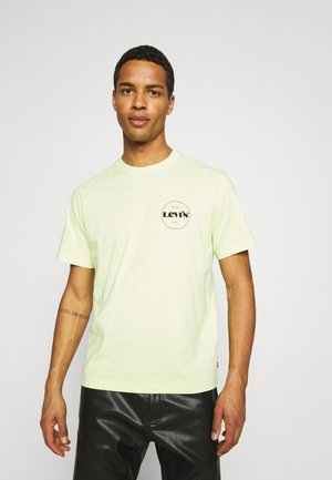 RELAXED FIT TEE - T-shirt imprimé - neon yellow