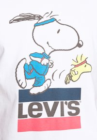 Levi's® - LEVI'S® X PEANUTS RELAXED FIT TEE UNISEX - Print T-shirt - bright white - 5