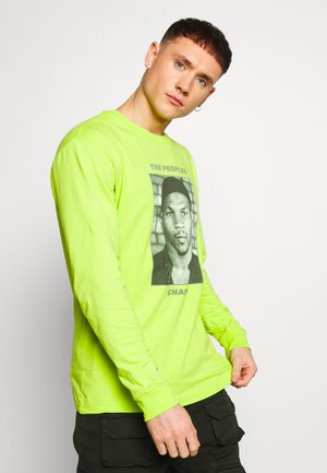 THE PEOPLES CHAMP 2 - T-shirt à manches longues - neon green