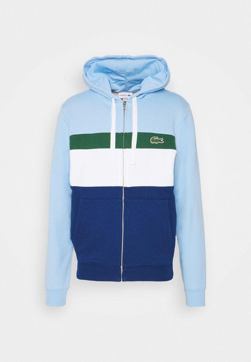 Lacoste - Zip-up hoodie - light blue