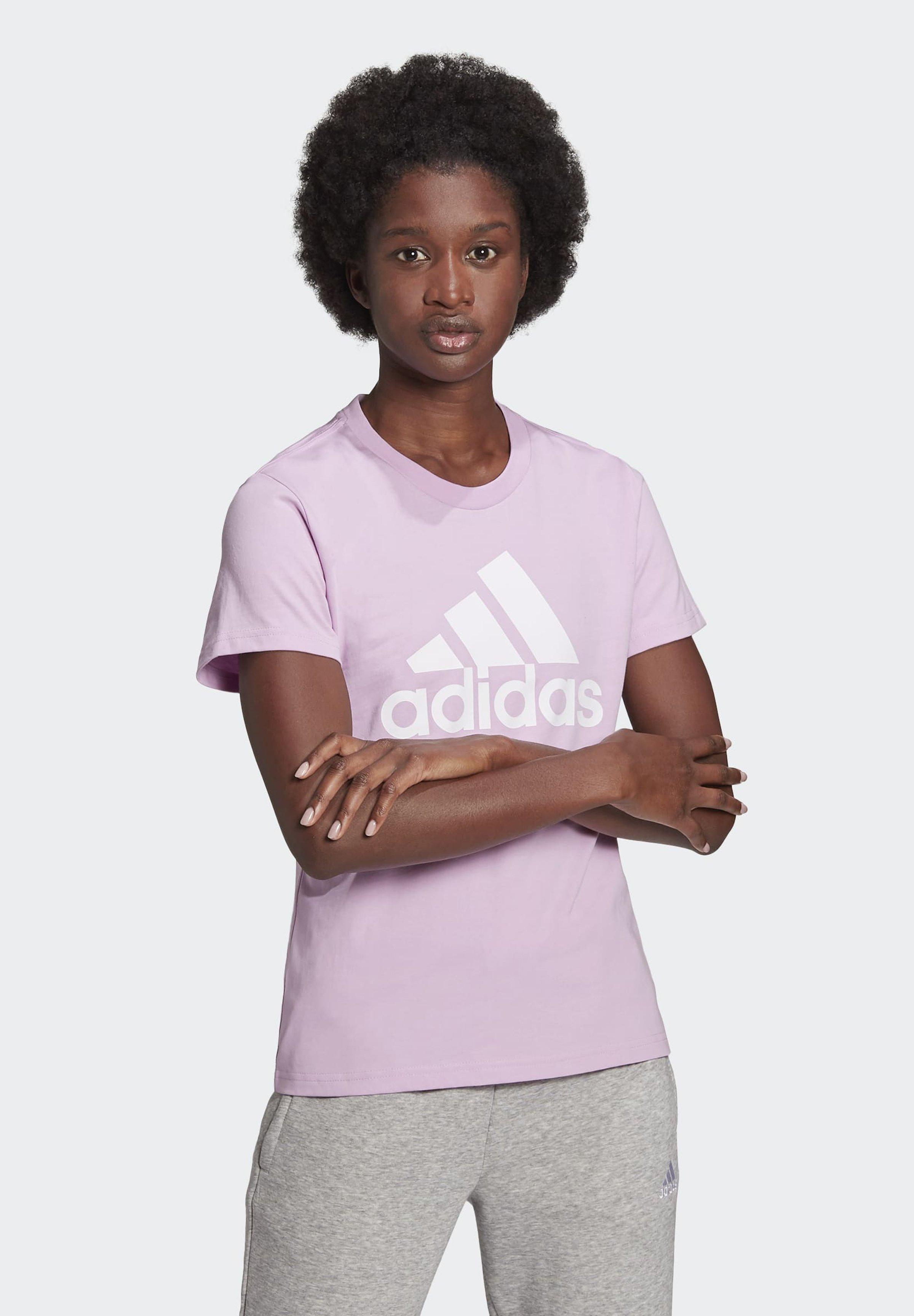 Women ESSENTIALS LOGO T-SHIRT - Print T-shirt