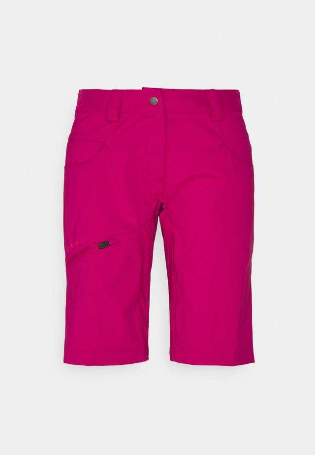 WOMEN'S SKARVAN BERMUDA - Outdoorshorts - crimson red