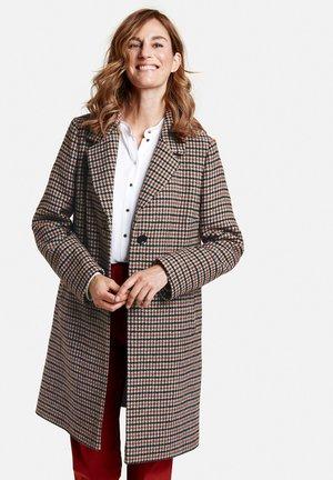 Short coat - blau/rot/orange karo
