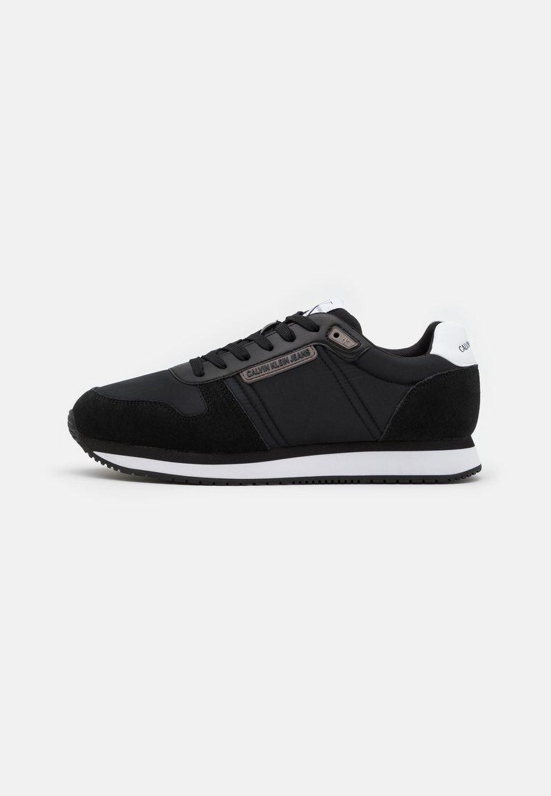 Calvin Klein Jeans - RUNNER LACEUP - Zapatillas - black