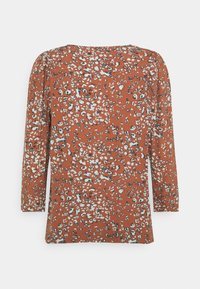 b.young - FLAMINIA LEO BLOUSE - Long sleeved top - etruscan red - 1