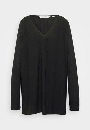 Long sleeved top - deep black