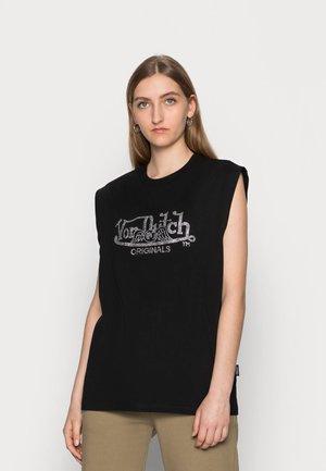 HAVEN STRASS  - Print T-shirt - black-smu