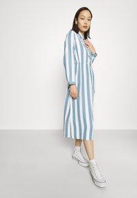 Lee - WORKER DRESS - Shirt dress - dawn blue - 3