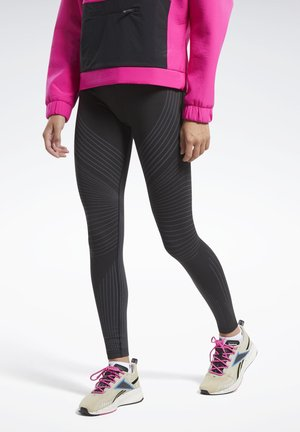 SEAMLESS LEGGINGS - Leggings - black