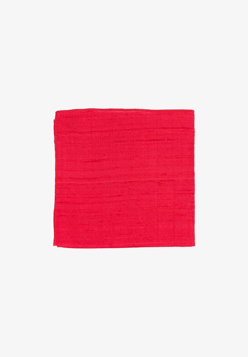 Hans Hermann - ROSE - Pocket square - rot