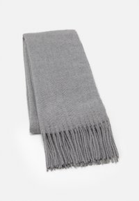 Pieces - PCKIAL NEW LONG SCARF  - Sjal - light grey melange - 0