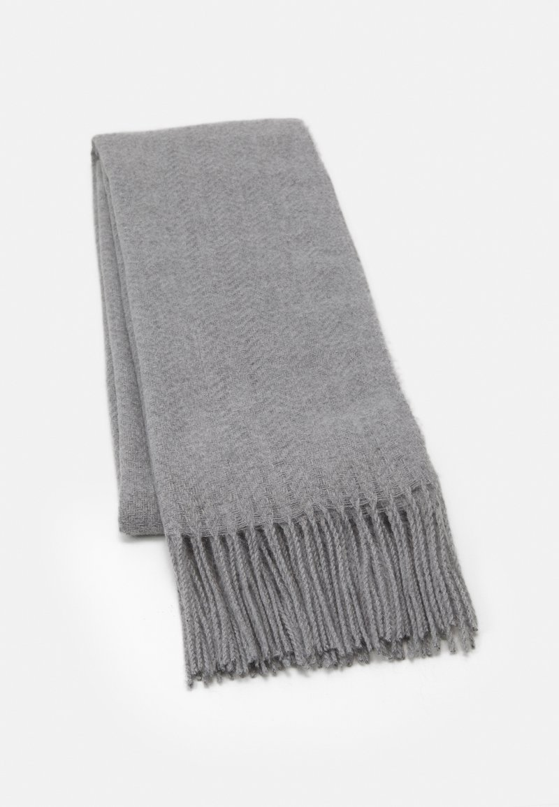 Pieces - PCKIAL NEW LONG SCARF  - Sjal - light grey melange
