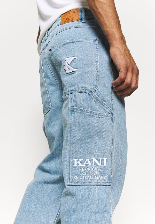 Karl Kani BAGGY - Jeansy Relaxed Fit - blue/niebieski Odzież Męska SIIT