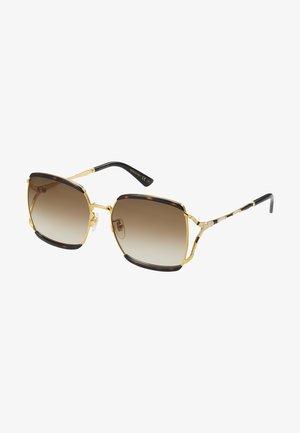 Sunglasses - havana/gold
