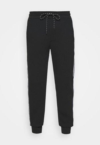 BLOCKED LOGO  - Teplákové kalhoty - black