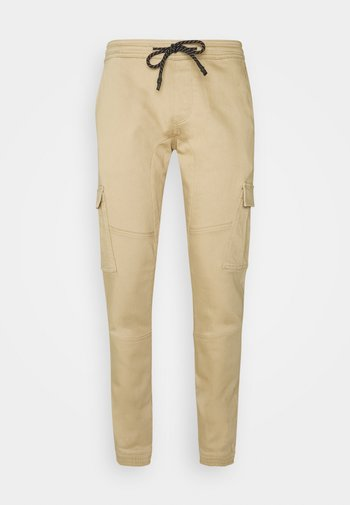 SLIM WASHED - Slim fit jeans - smoked beige