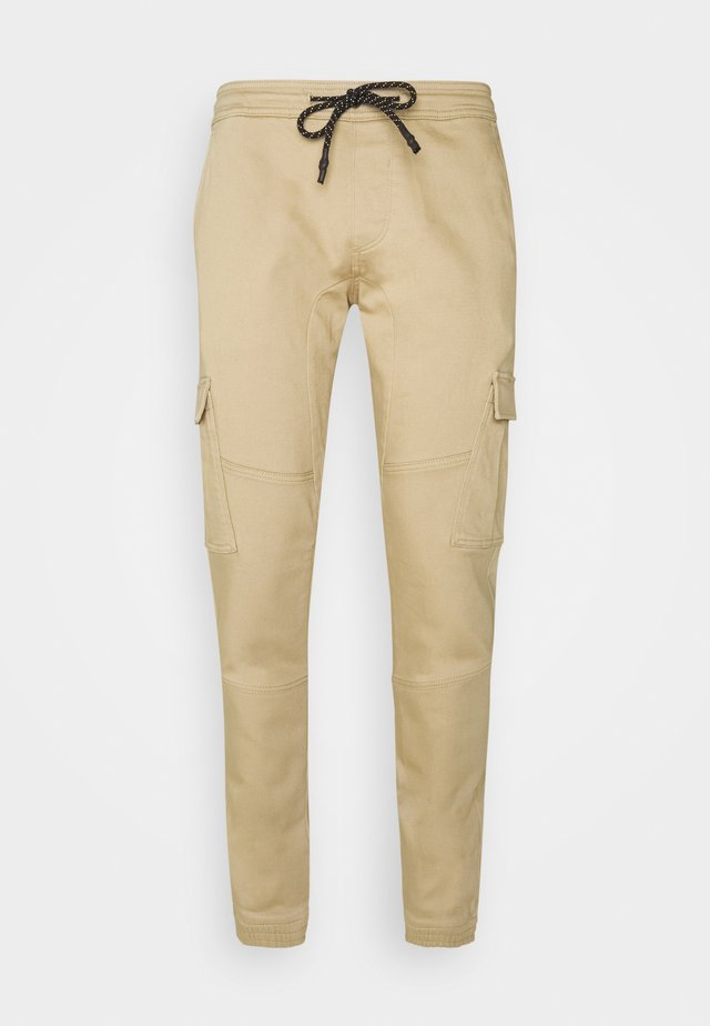 SLIM WASHED - Slim fit jeans - smoked beige