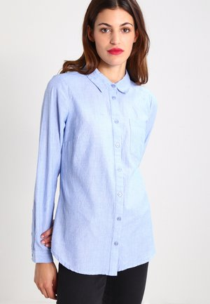 HOLLY  - Button-down blouse - grape mist melange