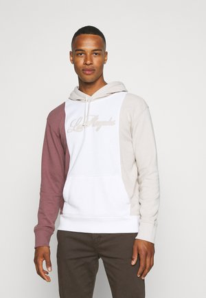 LA TECH BLOCK - Sweatshirt - white