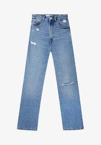 Stradivarius - VINTAGE - Flared Jeans - blue denim - 4