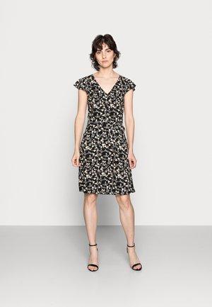WOVEN VOLANT DRESS - Day dress - multi-coloured