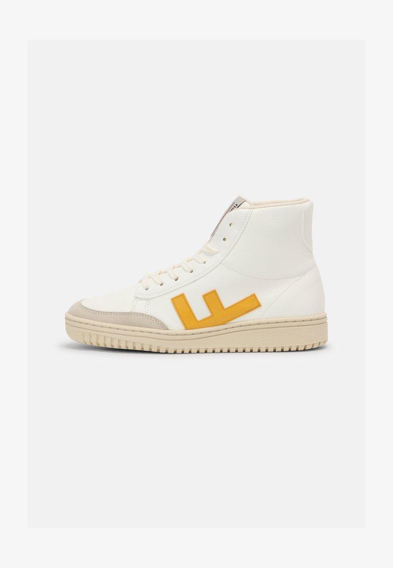 Flamingos' Life - OLD 80'S  UNISEX - Sneakersy wysokie - white/yellow