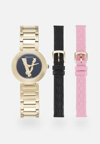 Versace Watches - VIRTUS MINI DUO - Watch - gold-coloured/pink - 0