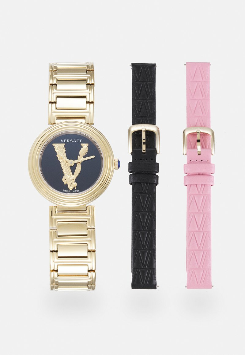 Versace Watches - VIRTUS MINI DUO - Watch - gold-coloured/pink