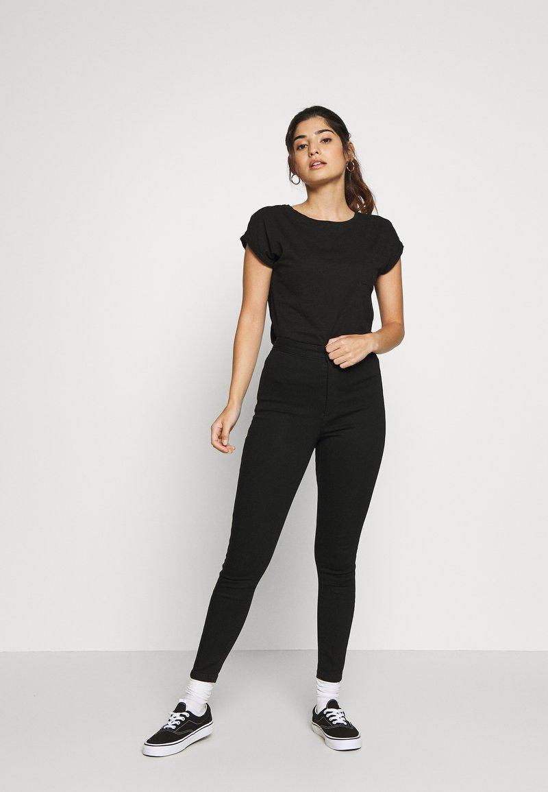 New Look Petite - 2 PACK - Basic T-shirt - black