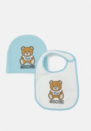 HAT BIB ADDITION SET UNISEX - Čepice - baby sky blue