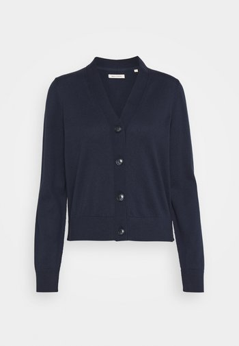 CARDIGAN LONG SLEEVE V-NECK BUTTON CLOSURE