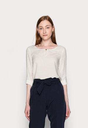 VMNADS 3/4 FOLD UP - Blouse - snow white