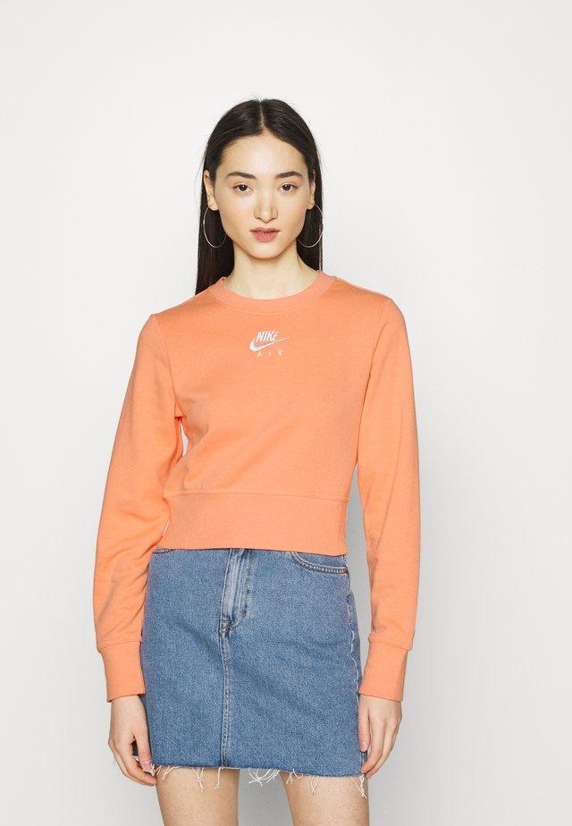 AIR CREW  - Sweatshirt - crimson bliss/white