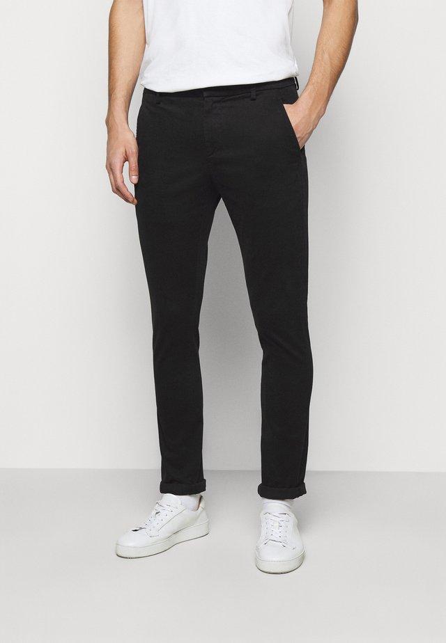 PANTALONE GAUBERT - Pantalones chinos - black
