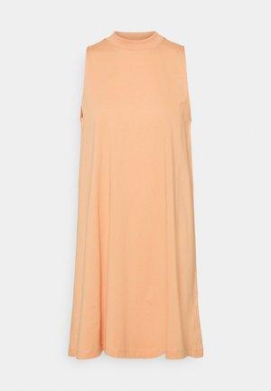 ALEANA DRESS - Jersey dress - orange