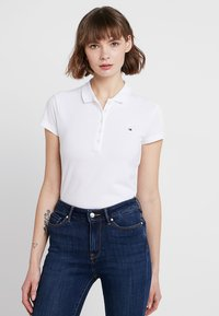 Tommy Hilfiger - HERITAGE SHORT SLEEVE - Polo - classic white - 0