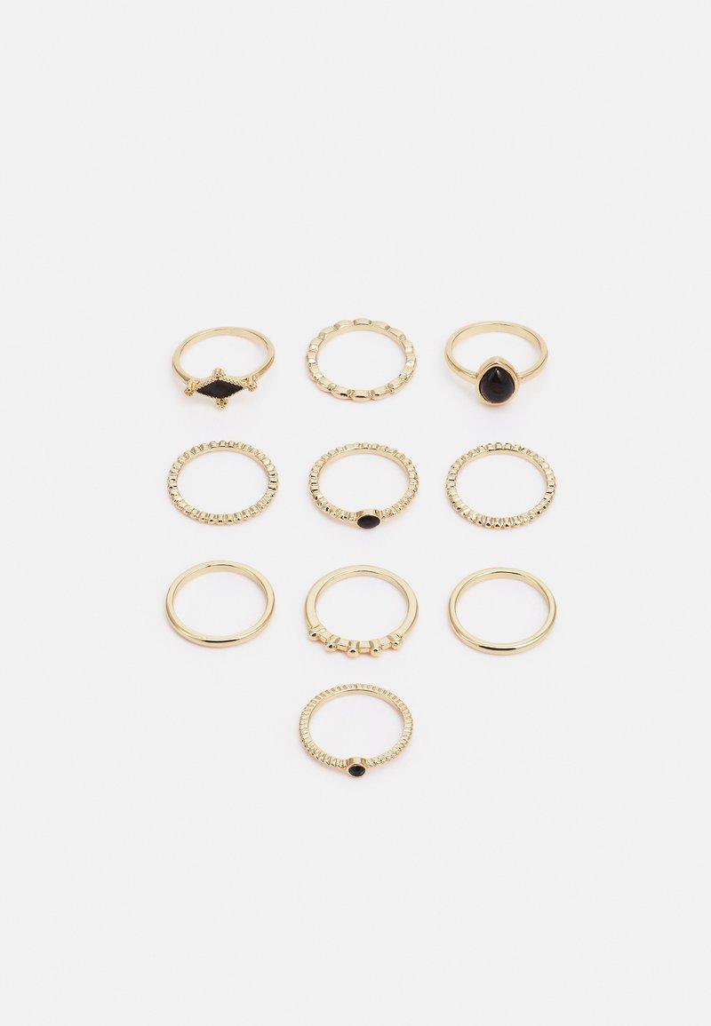 Fire & Glory - FGGABRIELLA 10 PACK - Ring - gold-coloured/black