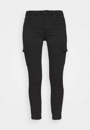 ONLMISSOURI LIFE CARGO - Jeans Skinny Fit - black denim