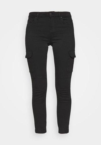 ONLMISSOURI LIFE CARGO - Jeans Skinny Fit - black denim