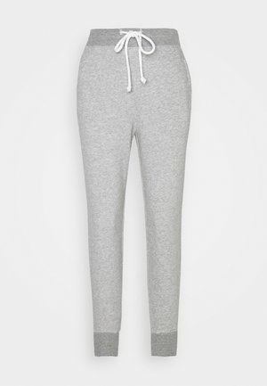 EMBROIDERED LOGO - Tracksuit bottoms - grey
