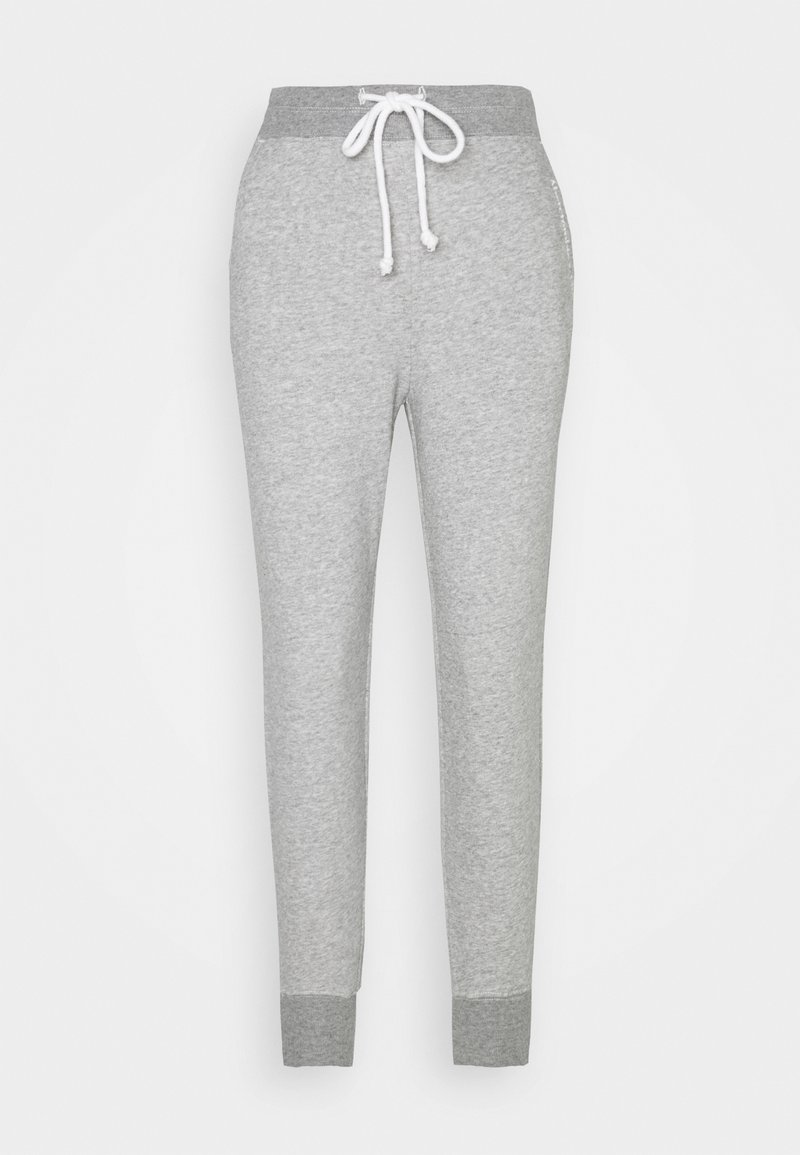 Abercrombie & Fitch - EMBROIDERED LOGO - Tracksuit bottoms - grey