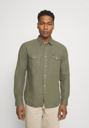 FLAP - Camisa - dusty olive