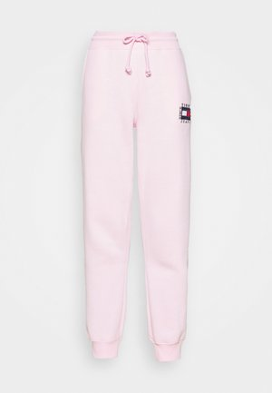 BOX FLAG PANT - Tracksuit bottoms - pink