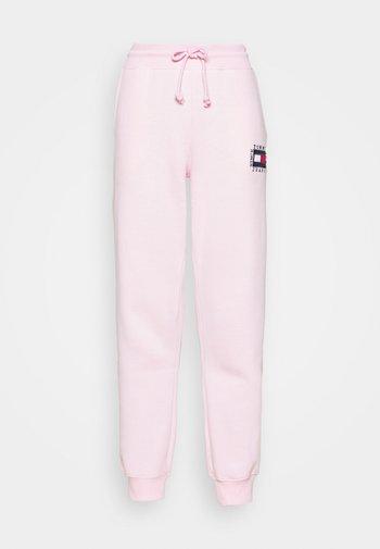 BOX FLAG PANT - Joggebukse - pink