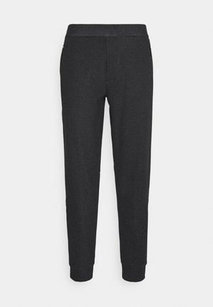 MENTUM  - Tracksuit bottoms - black heather
