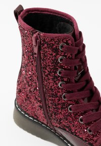 Friboo - Lace-up ankle boots - bordeaux - 2