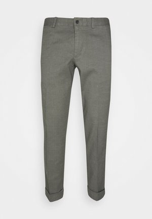 GRANT STRETCH PANTS - Broek - grey melange