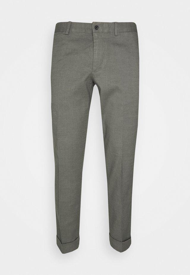 GRANT STRETCH PANTS - Chino kalhoty - grey melange