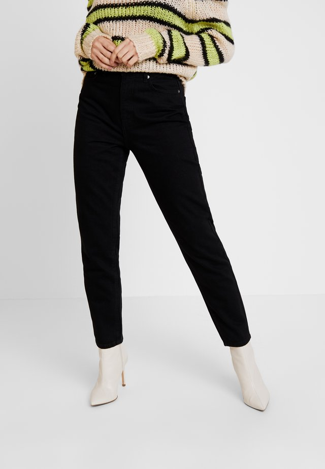 DAGNY HIGHWAIST - Relaxed fit -farkut - black