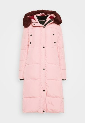 PADDED SVETA - Winter coat - rosa salvaje